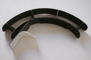 Anleitung zur Montage des Mack Face Shield Schritt 1